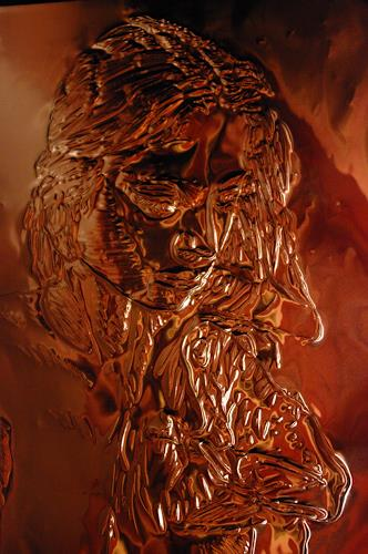 Klaus Ackerer, Who is jesus, Miscellaneous, Abstract Art, Abstract Expressionism