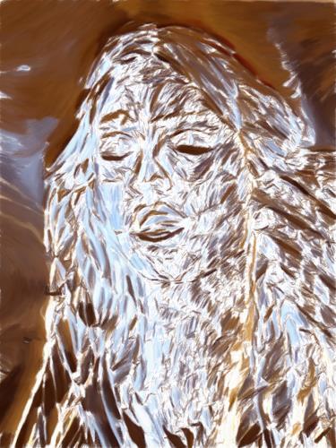 Klaus Ackerer, Die Prinzessin auf der Suche, Fantasy, Abstract Art