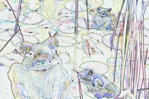 Klaus Ackerer, Schau, uns wird nur einer gerecht., Fantasy, Abstract Art