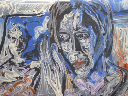 Klaus Ackerer, Der Kritiker stets im Nacken, Society, Abstract Art