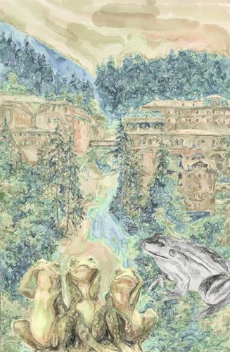 Klaus Ackerer, Ich sehe nicht`s, Fantasy, Abstract Art