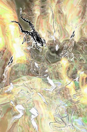 Klaus Ackerer, Die ohne Gewissen werden wiederkommen, Fantasy, Abstract Art