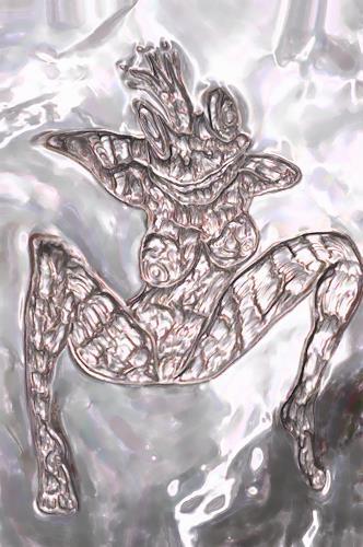 Klaus Ackerer, Fallschirm, Fantasy, Abstract Art
