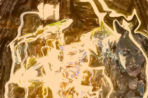 Klaus Ackerer, O7T, Fantasy, Abstract Art