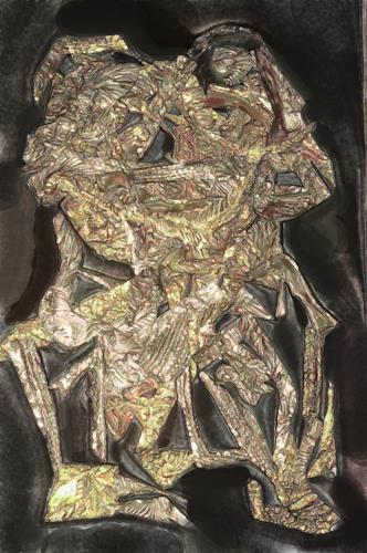 Klaus Ackerer, the happy frog, Fantasy, Abstract Art