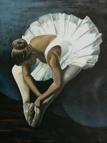 LUR-art/ Therese Lurvink, Ballet I, Miscellaneous Romantic motifs, People: Women, Expressionism