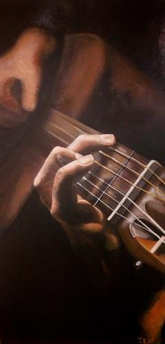 LUR-art/ Therese Lurvink, Gitarrero, Music: Musicians, Miscellaneous People