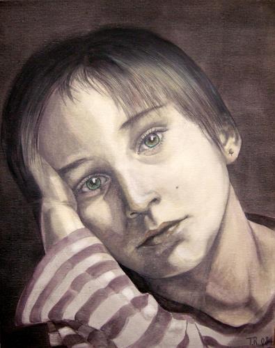 LUR-art/ Therese Lurvink, Portrait Noah, People: Portraits, People: Children