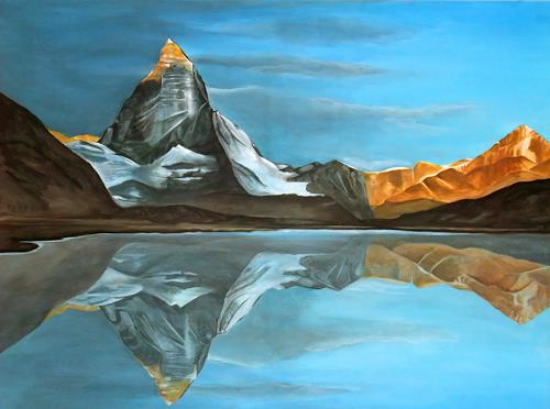 LUR art  Therese Lurvink Art Nature: Rock Landscapes: Mountains