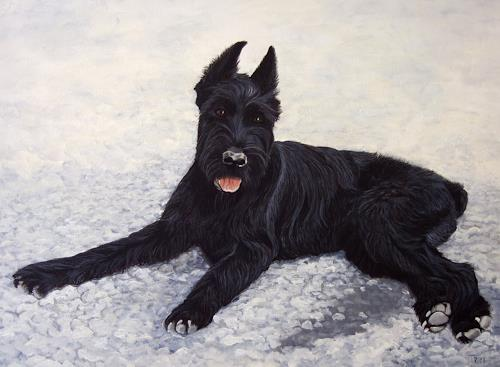 LUR-art/ Therese Lurvink, Riesenschnauzer, Miscellaneous Animals, Miscellaneous