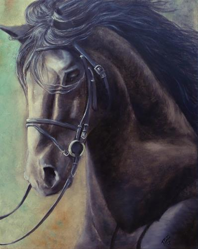 LUR-art/ Therese Lurvink, Horse, Miscellaneous Animals