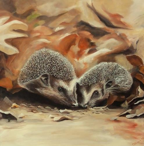 LUR-art/ Therese Lurvink, Igel, Miscellaneous Animals