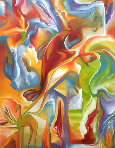 LUR-art/ Therese Lurvink, Quint, Abstract art, Movement