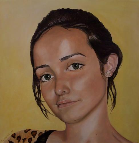 LUR-art/ Therese Lurvink, Portrait nach Foto, People: Portraits, People: Faces