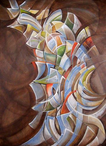 LUR-art/ Therese Lurvink, N/T, Abstract art, Movement