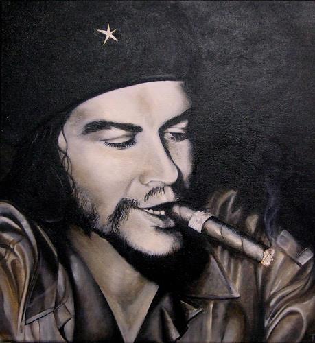 LUR-art/ Therese Lurvink, Che Guevara, People: Portraits, People: Men