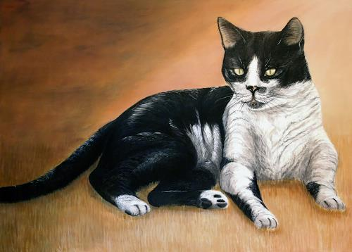 LUR-art/ Therese Lurvink, Kater, Animals: Land, Nature: Miscellaneous