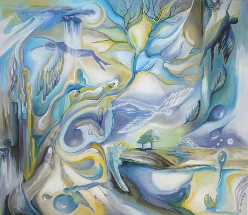 LUR-art/ Therese Lurvink, Anfang und Ende, Fantasy, Movement, Expressionism