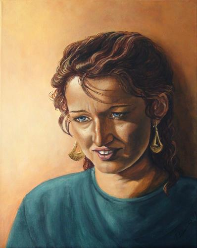 LUR art  Therese Lurvink Art People: Women People: Portraits