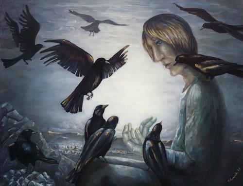 LUR-art/ Therese Lurvink, Eine Gutenachtgeschichte, Fairy tales, Miscellaneous People