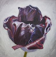 Wunderli-Sabine-Plants-Flowers-Modern-Age-Photo-Realism