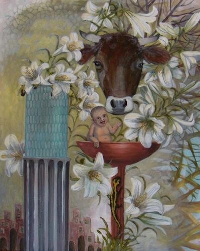 Wunderli Sabine, Weisse Lilien, Symbol