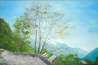 priyadarshi-gautam-Landscapes-Mountains-Nature-Earth-Modern-Age-Impressionism