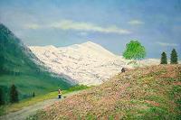 priyadarshi-gautam-Landscapes-Mountains-Modern-Age-Impressionism-Neo-Impressionism