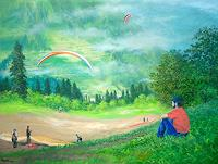 priyadarshi-gautam-Landscapes-Mountains-Sports-Modern-Age-Impressionism