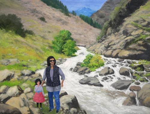 priyadarshi gautam, A VIEW FROM KINNAUR, Landscapes: Mountains, Nature: Earth, Naturalism