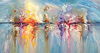 Peter-Nottrott-Landscapes-Sea-Ocean-Modern-Age-Expressionism-Abstract-Expressionism