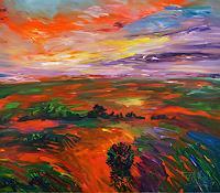 Peter-Nottrott-Landscapes-Landscapes-Plains-Modern-Age-Expressionism