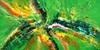 Peter Nottrott, Green Summer Days XXL 1, Abstract art, Abstract Art