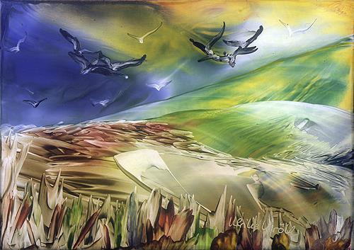 Ulrike Kröll, Natur im Umbruch, Movement, Nature: Earth, Contemporary Art