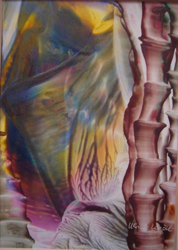 Ulrike Kröll, Bambus, Plants: Trees, Landscapes: Tropics, Contemporary Art, Expressionism