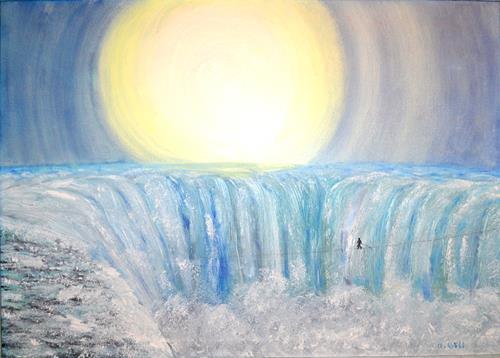 Ulrike Kröll, Wilde Wasser – majestätisch und atemberaubend, Nature: Water, Movement, Contemporary Art