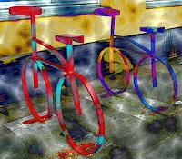 U. Kröll, Bicycles -  Digital-ART - limitiert (01/10)