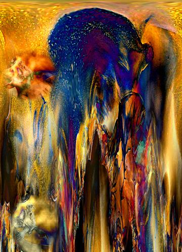 Ulrike Kröll, Lichtreflexe pur  - Digital-ART, Fantasy, Decorative Art, Contemporary Art, Abstract Expressionism