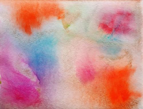 Ulrike Kröll, Farbimpressionen, Abstract art, Fantasy, Modern Age