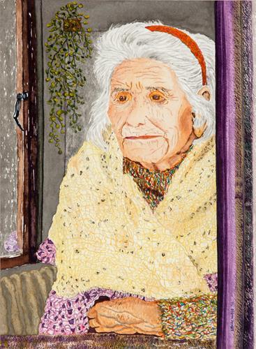 Ulrike Kröll, Die Zeit des Lebens, People: Women, Emotions: Joy, Contemporary Art