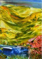 Ulrike-Kroell-Landscapes-Hills-Landscapes-Spring-Modern-Age-Naturalism
