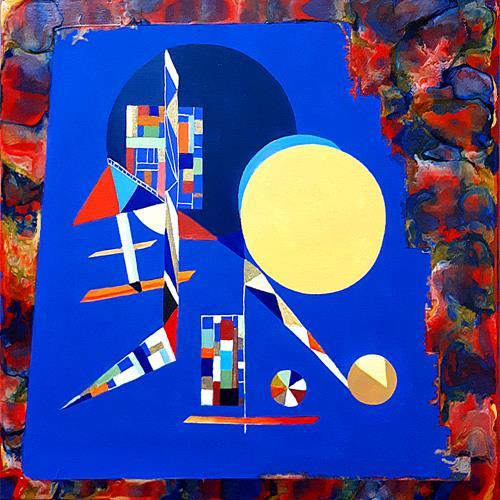 Ulrike Kröll, Sichtweisen, Abstract art, Miscellaneous Landscapes, Abstract Art