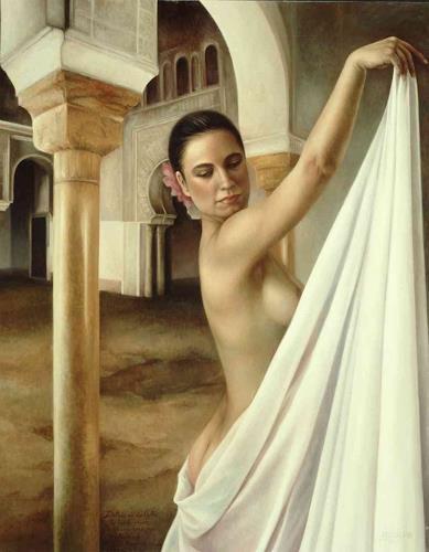 Maria Jose Aguilar, Secrets (Secretos), Miscellaneous Outer Space, Realism, Expressionism