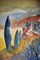 Brigitte-Heck-Landscapes-Hills-Leisure-Contemporary-Art-Contemporary-Art