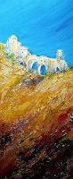 Brigitte-Heck-Landscapes-Mountains-Buildings-Churches-Contemporary-Art-Contemporary-Art