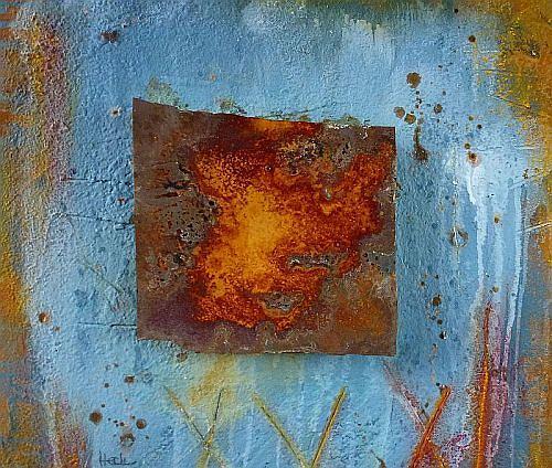 Brigitte Heck, Nr. 24 - The Wall, Abstract art, Still life, Contemporary Art