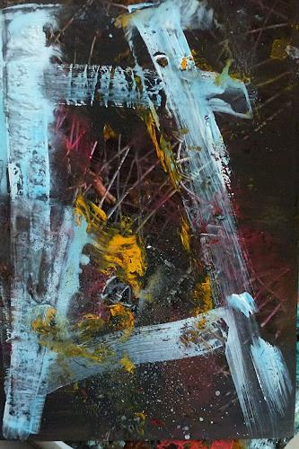 Brigitte Heck, Unterwelten Nr. 20, Fantasy, Industry  , Contemporary Art