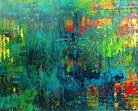 Brigitte-Heck-Plants-Trees-Abstract-art-Modern-Age-Abstract-Art-Non-Objectivism--Informel-