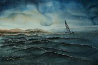 Brigitte-Heck-Landscapes-Sea-Ocean-Nature-Water-Contemporary-Art-Contemporary-Art