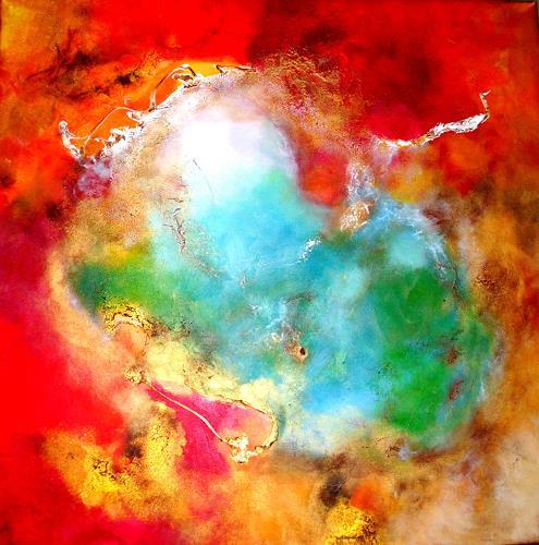 Silke Brandenstein, Königin Erde, Symbol, Nature: Miscellaneous, Abstract Expressionism, Expressionism